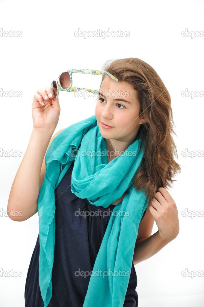 фото позирующих подростков моделей