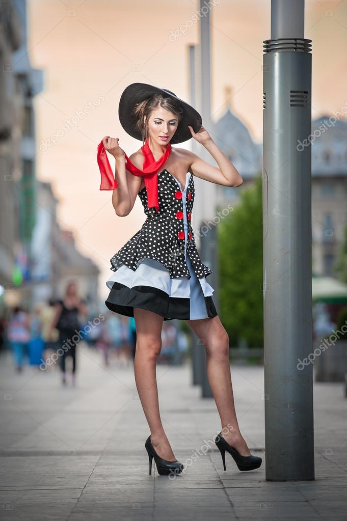 Black Swan Vintage Little Black Dress Elegant Costume