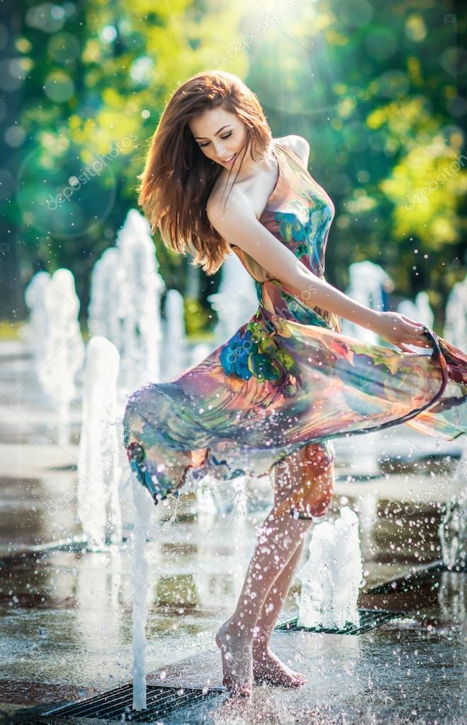 В мокром платье смотреть