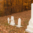 Stock Photo: Graves