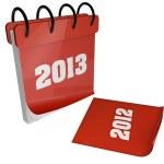 2013 calendar — Stock Photo #13495176