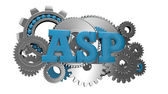 Asp code — Stock Photo