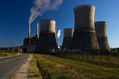 Uhlí elektrárna — Stock fotografie