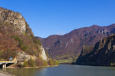 Olt Valley at Cozia, Valcea, Romania — Stock Photo