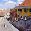 Old town center, Sibiu - Stock Photo