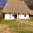 Romanian peasant house — Stock Photo