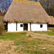 Romanian peasant house - Stock Photo