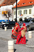 Gipsy women — Stock Photo
