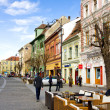 Historic center of Sibiu, Transylvania, Romania — Stock Photo