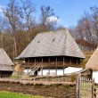 Romanian peasant vila - Stock Photo