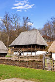 Romanian peasant vila — Foto de Stock