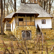 Old rural vila in Romania - Stock Photo