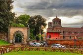 San Eugenio parish — Stock Photo