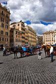 Piazza di spagna, Rom Italien — Stockfoto