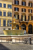 Piazza Farnese in Rome, Italy — Stock Photo