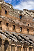 Ancient roman ruins in Rome Italy — Stock Photo
