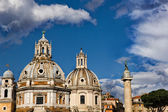 Rome skyline in city center — Stock Photo