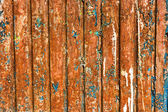 Rusty wall with exfoliated paint — Stock Photo