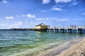 Fort DeSoto Pier — Stock Photo