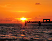 Fort DeSoto Sunset — Stock Photo