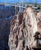 Royal Gorge Bridge — Stock Photo