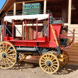 Red Wagon — Stock Photo