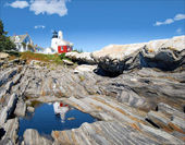 Reflection of Pemaquid — Stock Photo