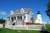 Pemaquid Point Light — Stock Photo