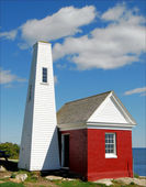 Pemaquid Bellhouse — Stock Photo