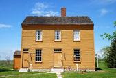 Casa de madeira — Foto Stock