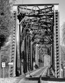 Rails Across — Stock Photo