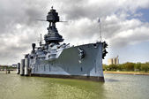 The USS Texas — Stock Photo