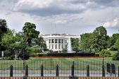 La casa bianca — Foto Stock