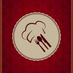 Restaurant menu cover — Stock Vector #12297787