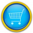 Shopping cart icon — Stock Vector #12751959