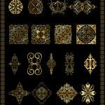 Ottoman motifs — Stock Vector #12789104
