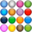 Colorfull icon balls — Stock Vector #18692465