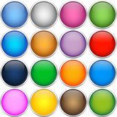 Bolas de icono colorfull — Vector de stock