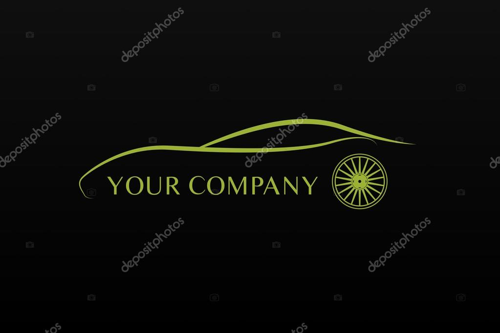 Green Car Logo Green Car Logo Vector by Baser