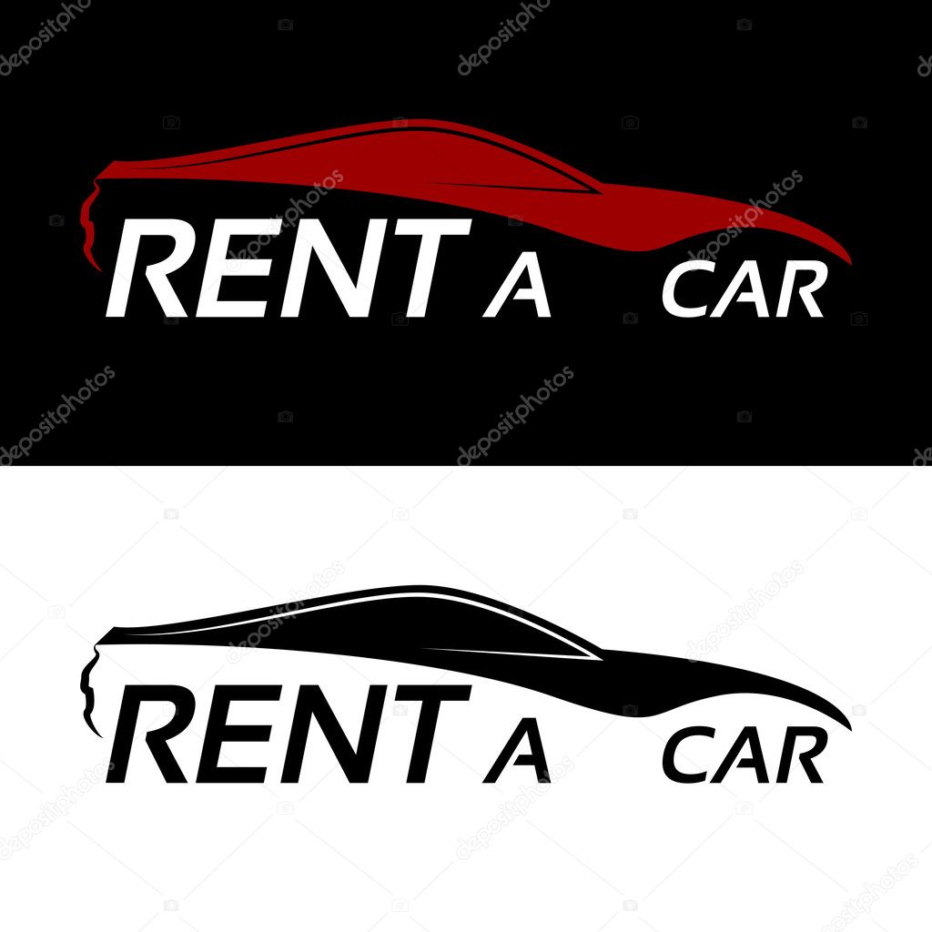 Rent A Car Logo Vectors