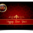 Creative new year celebrate card — Stock Vector #35690407