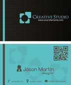 Creative business Card — Stock Vector