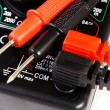 Multimeter with two contacts — Stock Photo