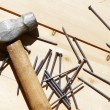 Hammer and nails — Stock Photo #13157393