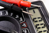 Multimeter with — Stock Photo