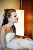 Portrait of a beautiful bride — Stock Photo