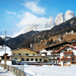 Village in the mountains. Campitello — Lizenzfreies Foto