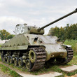Middle tank Army USA M4 Sherman — Stock Photo