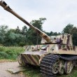Heavy tank of Wehrmacht Tiger I — Stock Photo