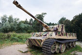 Heavy tank of Wehrmacht Tiger I — Stock Photo